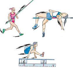 Виды прыжков в легкой атлетике доклад 4632